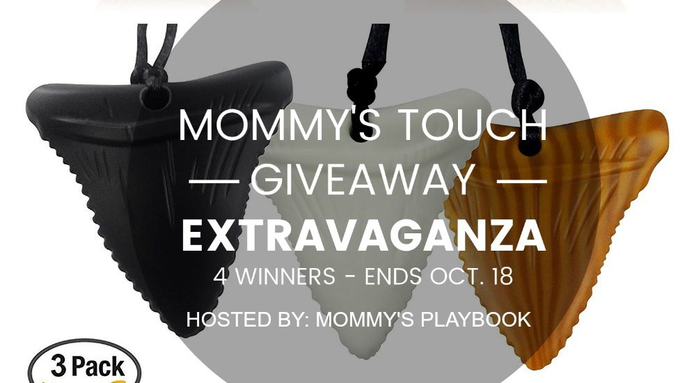 Enter to win a3-Pack Shark Tooth Silicone Chews in theMommy's Touch Giveaway Extravaganza. Good luck.