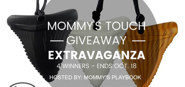 Enter to win a 3-Pack Shark Tooth Silicone Chews in the Mommy's Touch Giveaway Extravaganza. Good luck.