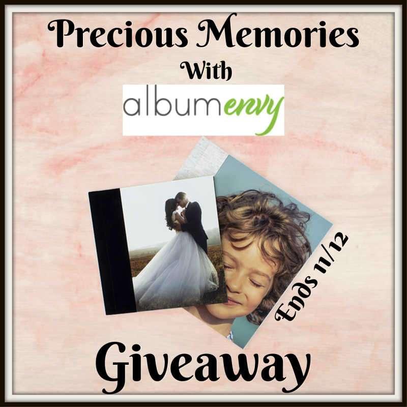 Precious Memories With Album Envy Giveaway