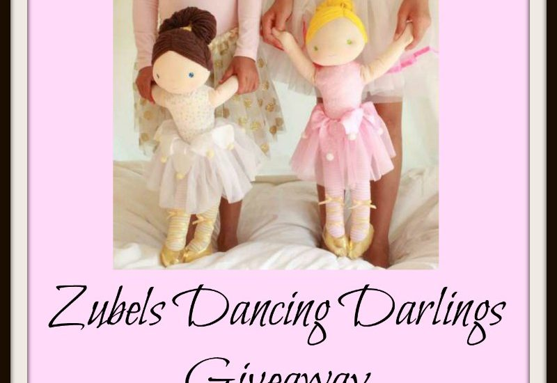 Your little princess will love this! Enter to win in the Zubels Dancing Darlings Giveaway before it's too late. Good luck!
