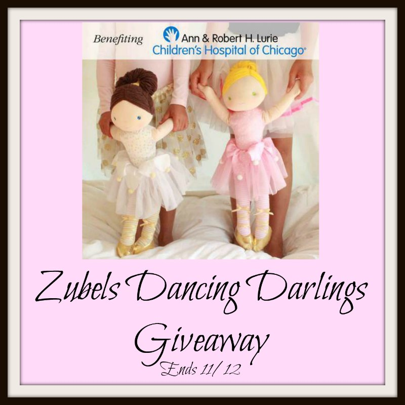 Your little princess will love this! Enter to win in theZubels Dancing Darlings Giveaway before it's too late. Good luck!
