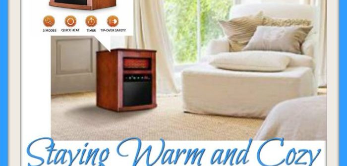 You don't have to turn into a popsicle this fall/winter. Enter to win in the Staying Warm and Cozy Giveaway. Good luck!
