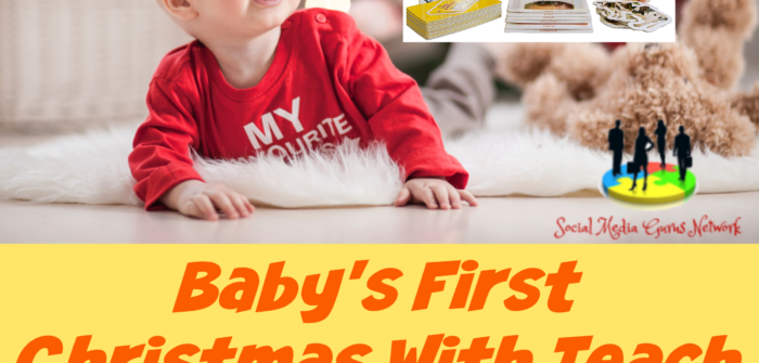 Give your little one a headstart with a program that supports screen-free early learning. Enter to win in the Baby's First Christmas With Teach My Giveaway before it's too late. Good luck!