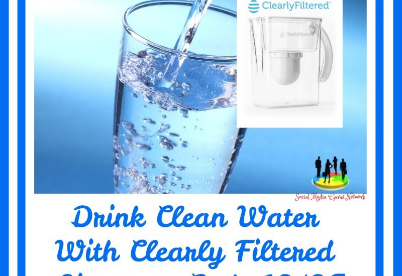 The only thing better than a refreshing glass of water is a refreshing glass of filtered water. Enter to win in the Drink Clean Water With Clearly Filtered Giveaway before it's too late. Good luck.