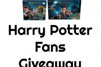 Here is a fun giveaway for my Harry Potter fans out there! Enter to win in theHarry Potter Fans Giveaway before it's too late. Good luck!