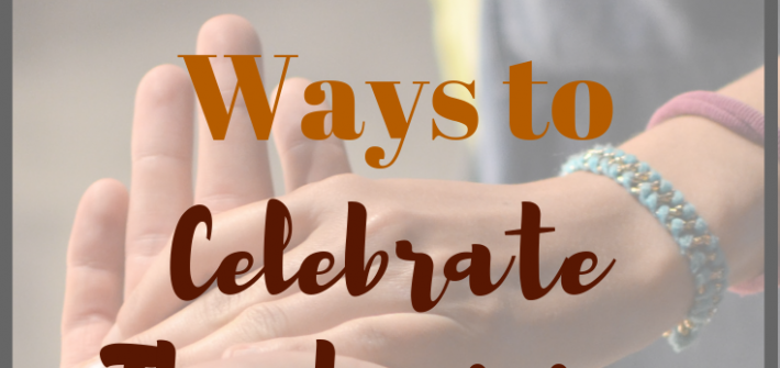You can serve others while getting in that quality family time using one of these 12 Charitable Ways to Celebrate Thanksgiving.