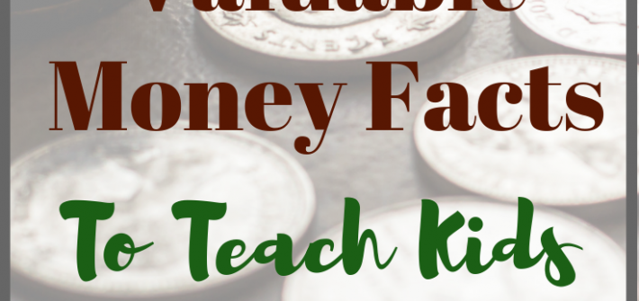 Here's a couple of the main money facts you should teach your kids, for a better financial future.