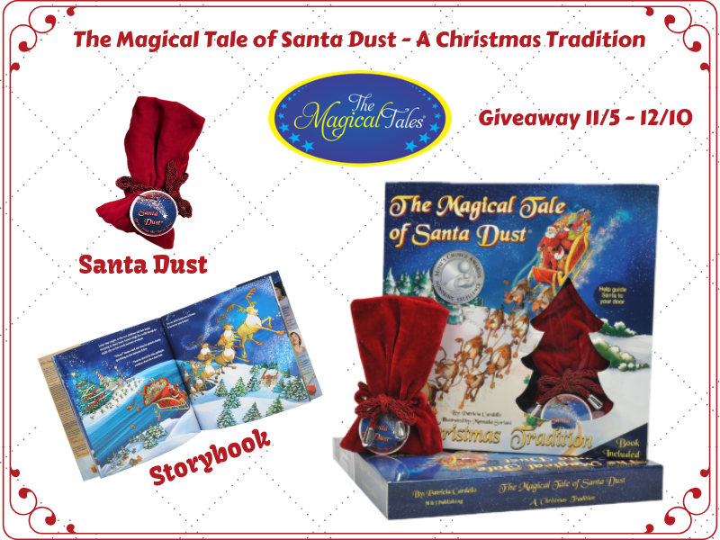 The Magical Tale of Santa Dust Giveaway- Ends 12/10