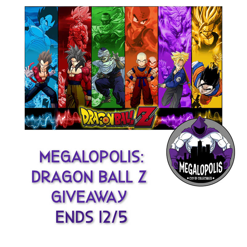 Here is a really fun giveaway for all my Dragon Ball Z, and anime fans out there. Enter to win in the Dragon Ball Z Giveaway before it's too late. Good luck!