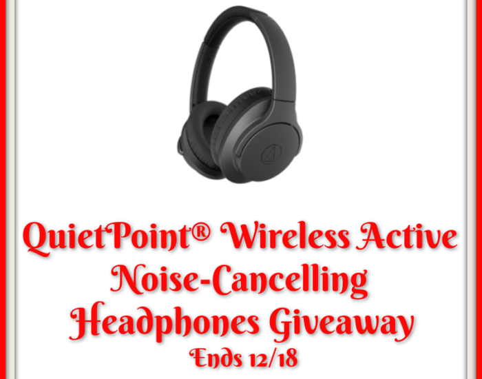 Treat yourself to a special gift this holiday with a pair of Noise-Cancelling Headphones. Enter to win in the QuietPoint® Wireless Active Noise-Cancelling Headphones Giveaway before it's too late. Good luck!