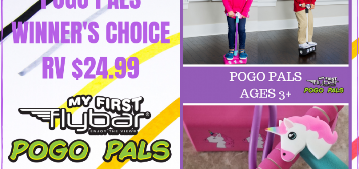 Here is a fun giveaway for the little ones you do not want to miss. Enter to win in thePogo Pals Giveaway before it's too late. Good luck!