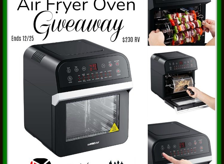 Treat yourself to a gift that'll make dinner prep so much more pleasant. Enter to win in the GoWISE USA Air Fryer Oven Giveaway before it's too late. Good luck!