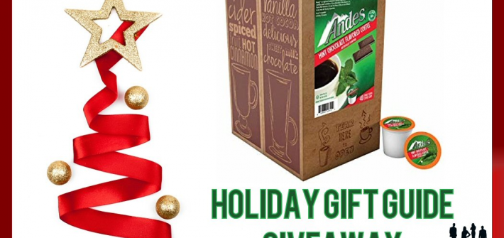 Alright, this one is for all my coffee lovers out there. Enter to win in the Andes Mint Chocolate Coffee 2018 Holiday Gift Guide Giveaway before it's too late. Good luck!