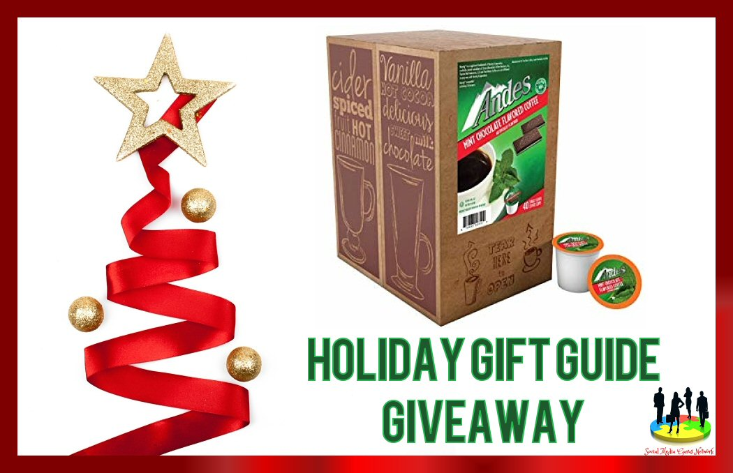 Alright, this one is for all my coffee lovers out there. Enter to win in theAndes Mint Chocolate Coffee 2018 Holiday Gift Guide Giveaway before it's too late. Good luck!