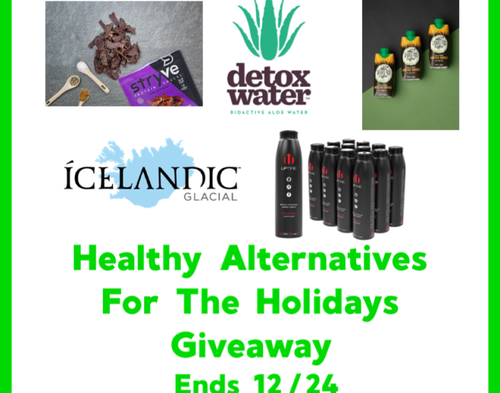 You don't have to let your health go neglected during the holidays. There are some healthy alternatives out there that you can effortlessly insert into your daily routine. Enter to win in the Healthy Alternatives For The Holidays Giveaway before it's too late. Good luck.