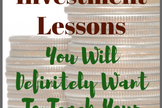 Here are ten investment lessons that you need to teach your children young, so that your children adapt to good financial habits early on.