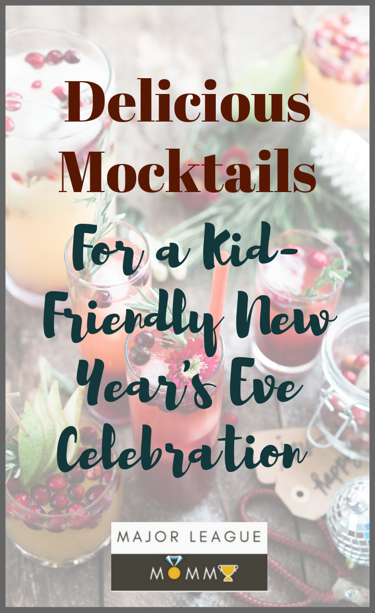 Delicious Mocktails For a Kid-Friendly New Year's Eve Celebration