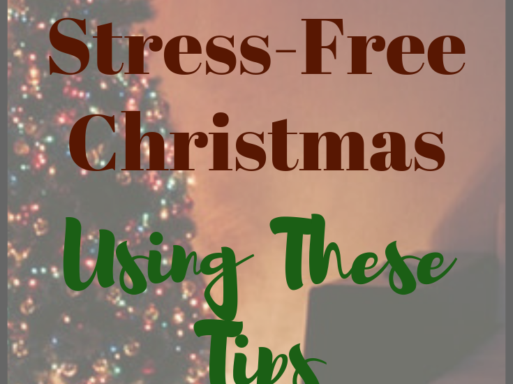 Christmas can be a really busy and stressful time of the year for a lot of people. Although it's supposed to be a time of relaxation and winding down, it often seems that this season is actually more stressful than any other time of the year.