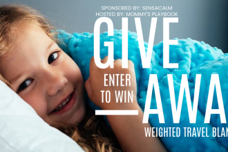 I know that traveling with kids is not always the most comfortable thing in the world. However, a weighted blanket can certainly make travel a whole lot more comfortable. Enter to win in theSensaCalm Blanket Giveaway before it's too late. Good luck!