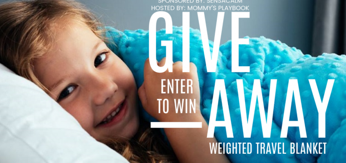 I know that traveling with kids is not always the most comfortable thing in the world. However, a weighted blanket can certainly make travel a whole lot more comfortable. Enter to win in the SensaCalm Blanket Giveaway before it's too late. Good luck!