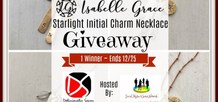 Treat yourself to a nice little gift this Christmas. Enter to win in the Isabelle Grace Starlight Initial Charm Necklace Giveaway before it's too late. Good luck!
