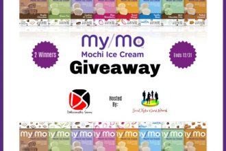 Here is a yummy giveaway you will not want to miss. Enter to win in theMy/Mo Mochi Ice Cream Giveaway before it's too late. Good luck!