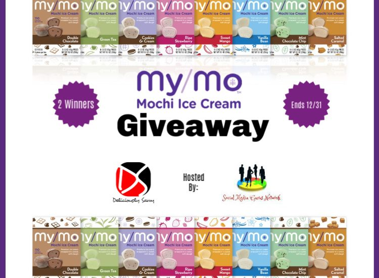 Here is a yummy giveaway you will not want to miss. Enter to win in the My/Mo Mochi Ice Cream Giveaway before it's too late. Good luck!