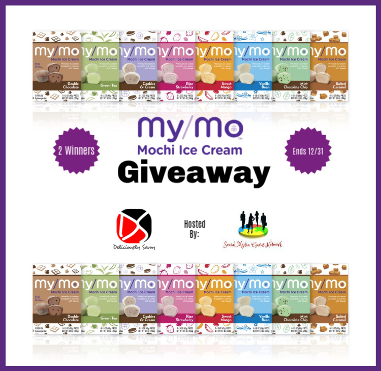 My/Mo Mochi Ice Cream Giveaway-Ends 12/31