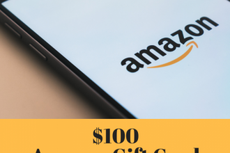 Here is an opportunity you do not want to miss. Enter to win in the $100 Amazon Gift Card Giveaway before it's too late. Good luck!