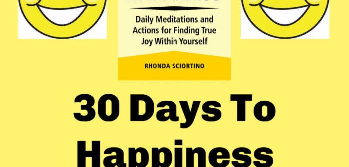 We are all about the happy in 2019, and I am helping to spread some of those good vibes to you with a new giveaway. Enter to win in the 30 Days To Happiness Giveaway before it's too late.