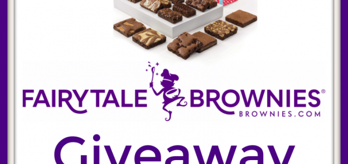 This is a delicious giveaway, you definitely do not want to miss. Enter to win in the Fairy Tale Brownies Giveaway before it's too late. Good luck!