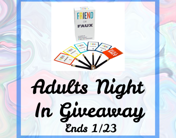 Happy New Year, Mommas! Cheers to a successful New Year with more date nights and fun with family and friends. This one is for us. Enter to win in theAdults Night In Giveaway before it's too late. Good luck!
