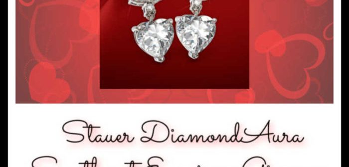 Treat yourself to a little bit of luxury this Valentine's Day. Enter to win in theStauer DiamondAura Sweetheart Earrings Giveaway before it's too late. Good luck!