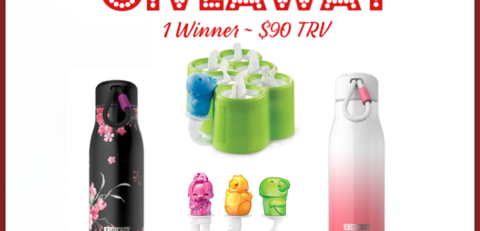 I am back with another awesome giveaway for you all. You do not want to miss out on this one. Enter to win in theZoku Stay Hydrated & More Giveaway before it's too late. Good luck.