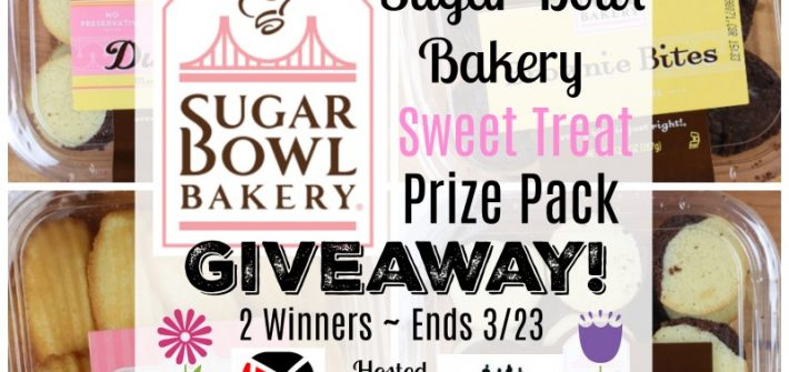Sugar Bowl Bakery Sweet Treat Prize Pack Giveaway