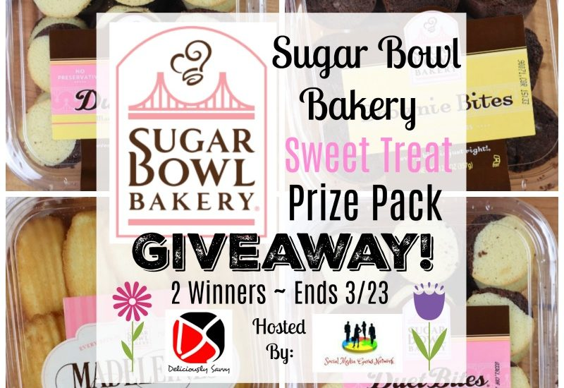 Sugar Bowl Bakery Sweet Treat Prize Pack Giveaway - Ends 3/23 -