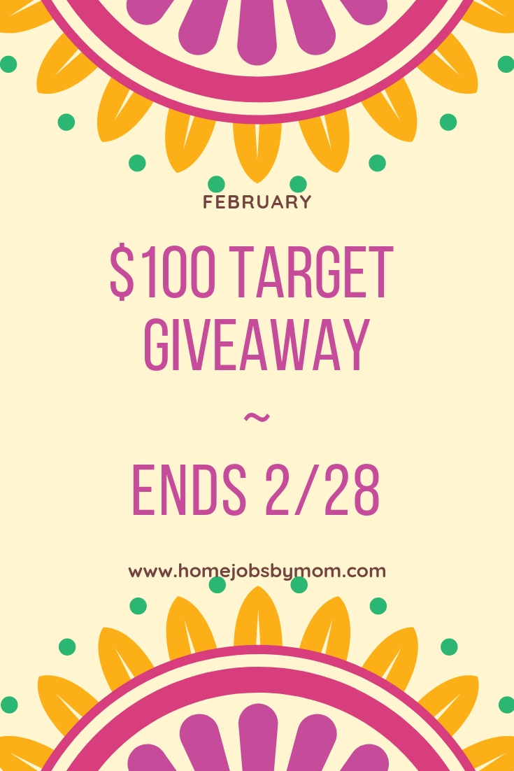 Callin' all my Mommas out there! This giveaway is definitely for us. Enter to win in the $100 Target Gift Card Giveaway before it's too late. Good luck.