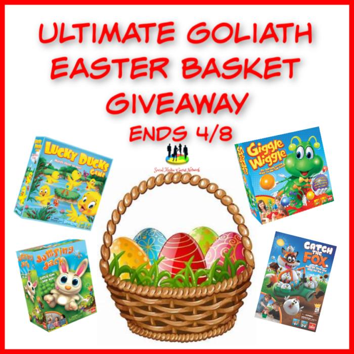 Ultimate Goliath Easter Basket Giveaway-Ends 4/8