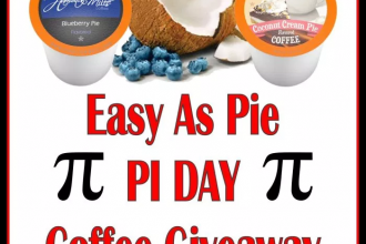 This giveaway isn't running for long! Enter to win in the Easy As Pie PI DAY Coffee Giveaway before it's too late. Good luck!