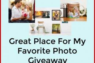 Enter to win in the Great Place For My Favorite Photo Giveaway before it's too late. Good luck!