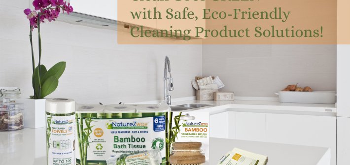 Have you gotten started on that Spring Cleaning yet? If not, this eco-friendly prize pack will get you excited about doing so. Enter to win in the NatureZWay Spring Giveaway before it's too late. Good luck!