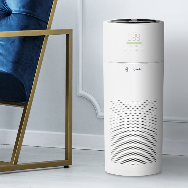 PureGuardian® Hi-Performance Tower Console Air Purifier Giveaway- Ends 4/19