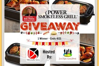 I am all for a super convenient way to grill up some yum-yums for a tasty dish. This prize can help us all to do just that. Enter to win in the Power Smokeless Grill Giveaway before it's too late. Good luck!