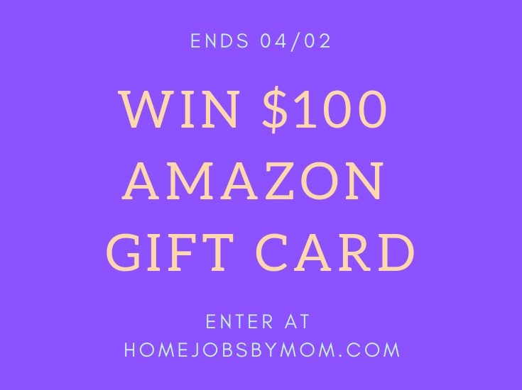Enter to win in the $100 Amazon Gift Card Giveaway before it's too late. Good luck!