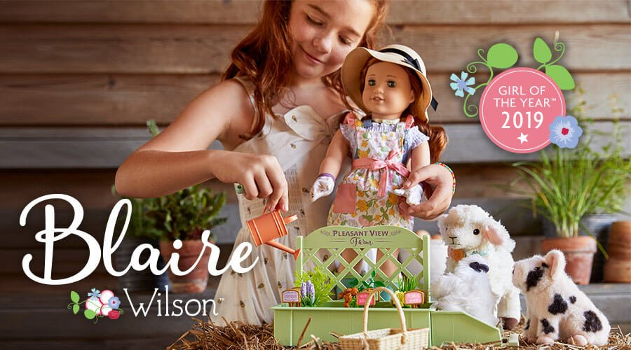 Enter to win in the American Girl of the Year Giveaway before it's too late. Good luck!