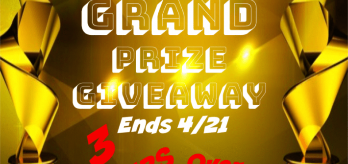 Spring is in the air, and it is time to celebrate! Enter to win in the Spring Gift Guide Grand Prize Giveaway before it's too late. Good luck!
