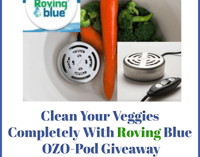 Take your Spring Cleaning to the next level by expanding it to include your food! Enter to win in the Clean Your Veggies Completely With Roving Blue before it's too late. Good luck!