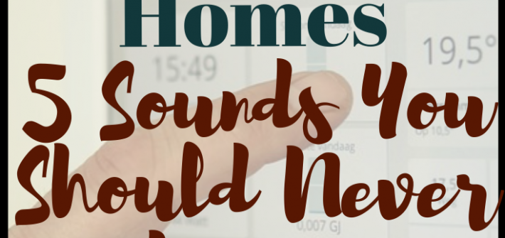 If you start to hear a completely new sound or one that becomes more frequent or louder, it could be a sign that there is an issue in your home. Here are 5 Sounds You Should Never Ignore.