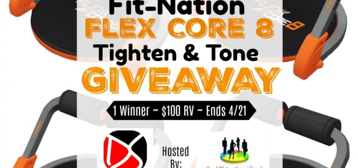 Here is a giveaway that'll help you get bikini ready just in time for the summer. Enter to win in the Fit-Nation Flex Core 8 Tighten & Tone Giveaway before it's too late. Good luck!