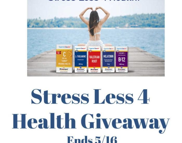 It's time to relax, Momma! Let's make our self-care a priority. Enter to win in the Stress Less 4 Health Giveaway before it's too late. Good luck!